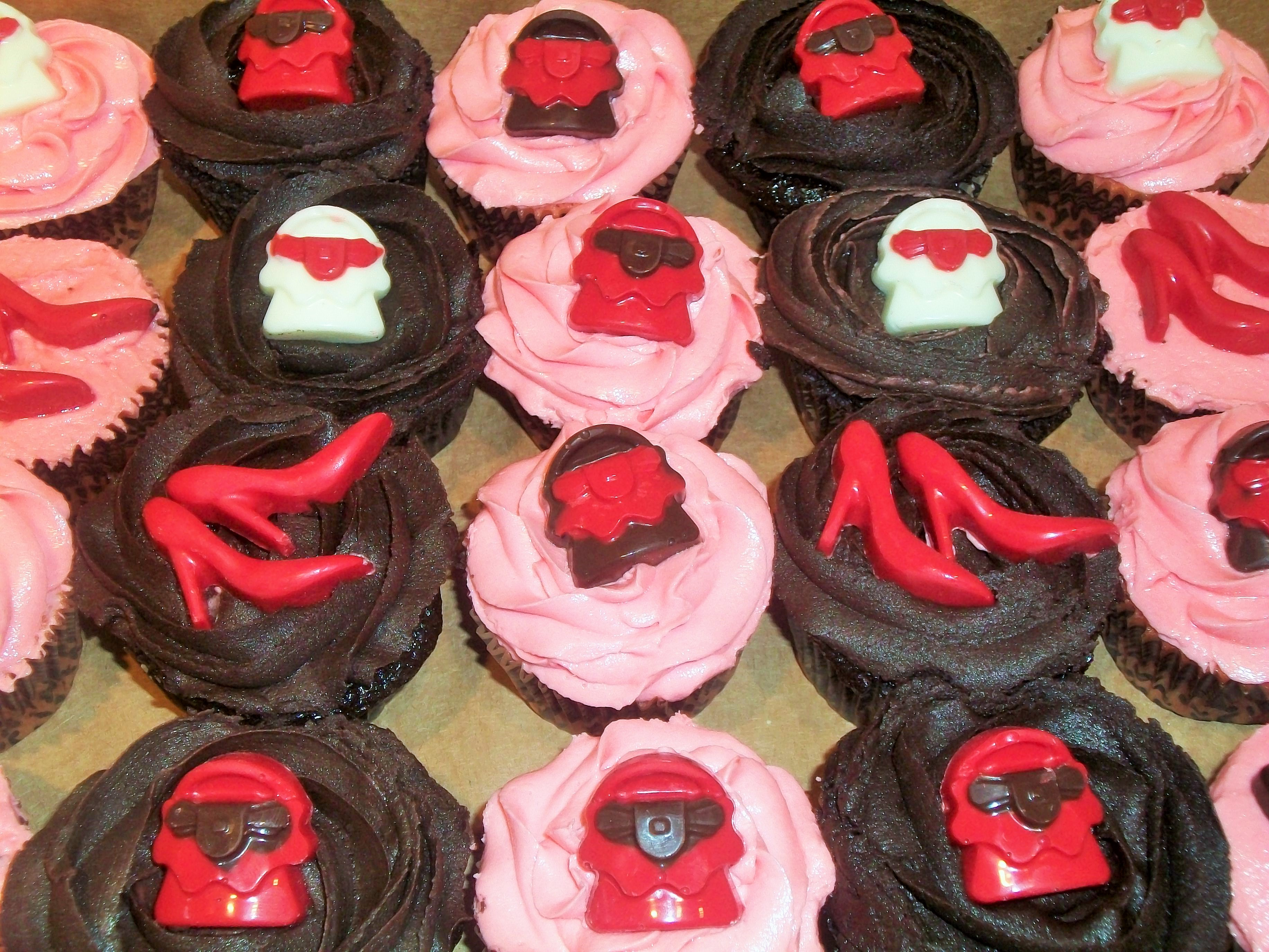 Purse & Shoes Cupcakes